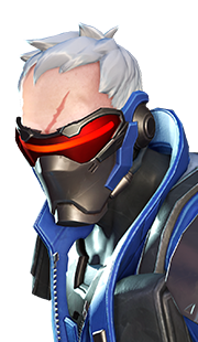 Soldier: 76 Portrait